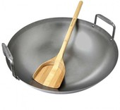Big Green Egg Carbon Steel Grill Wok