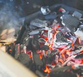 Napoleon  Gietijzeren houtskoolinzet met rookcompartiment