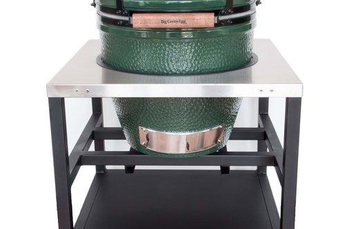 Big Green Egg RVS horeca tafel met zwenkwielen