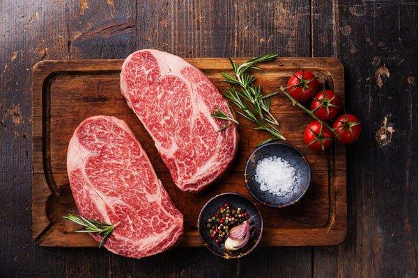 Wagyu Beef Rib eye steak - MBS 6-7