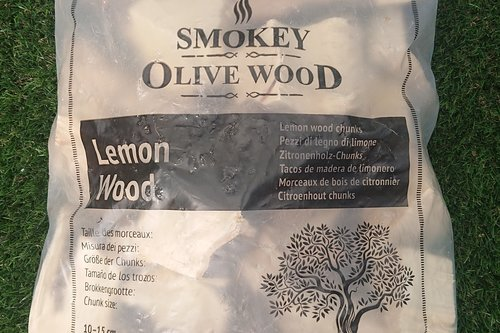 Smokey Olive Wood Citroen rookhout chunks