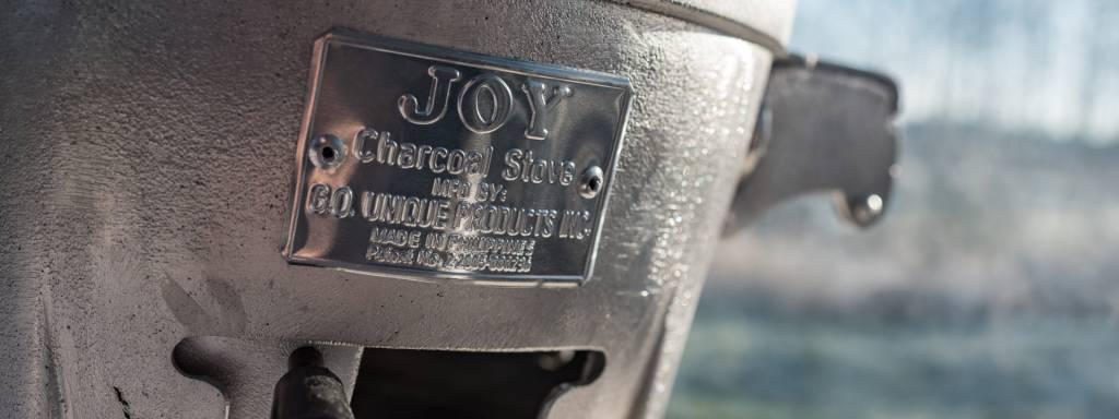 Joy Charcoal Stove Joy Carbon rooster - Grid