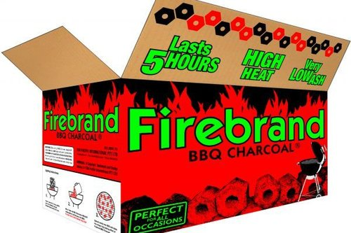 FireBrand briketten / houtskool - tubes