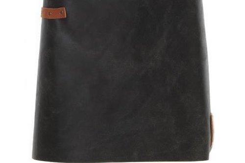 Witloft Korte (dames) sloof Black/Cognac
