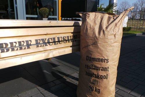 Dammers Dammers Restaurant Houtskool (10 kg)