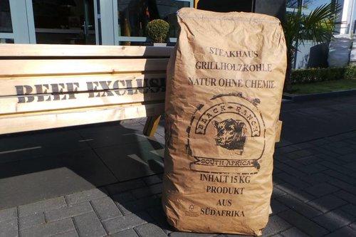 Black Ranch Acacia houtskool (15 kg)