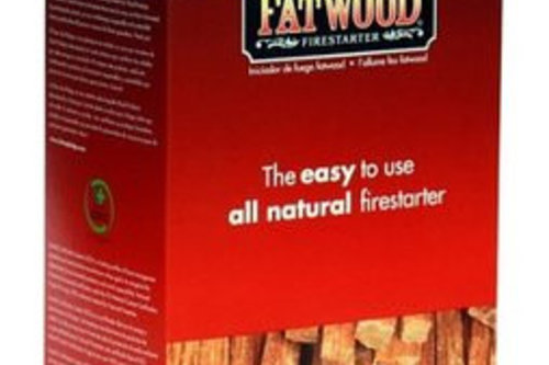 All-natural Fatwood firestarter