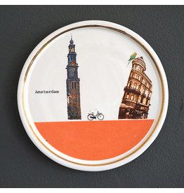 tussen de Westerkerk en Koningsplein