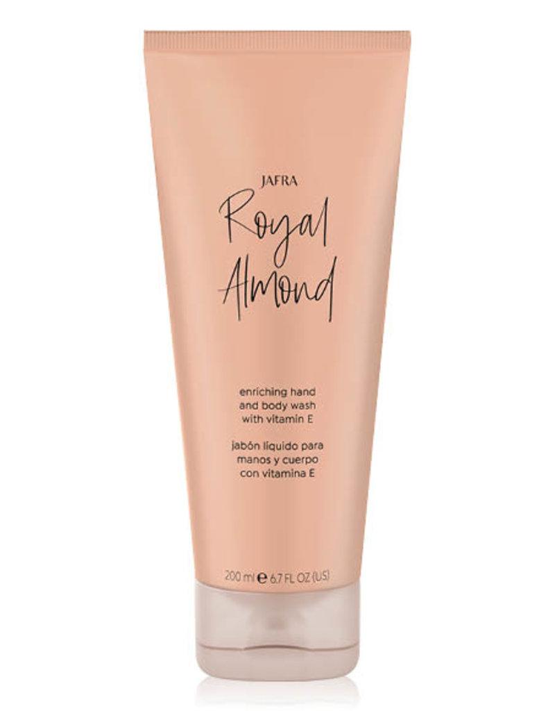 Royal Almond Hand en Body Wash met vitamine E