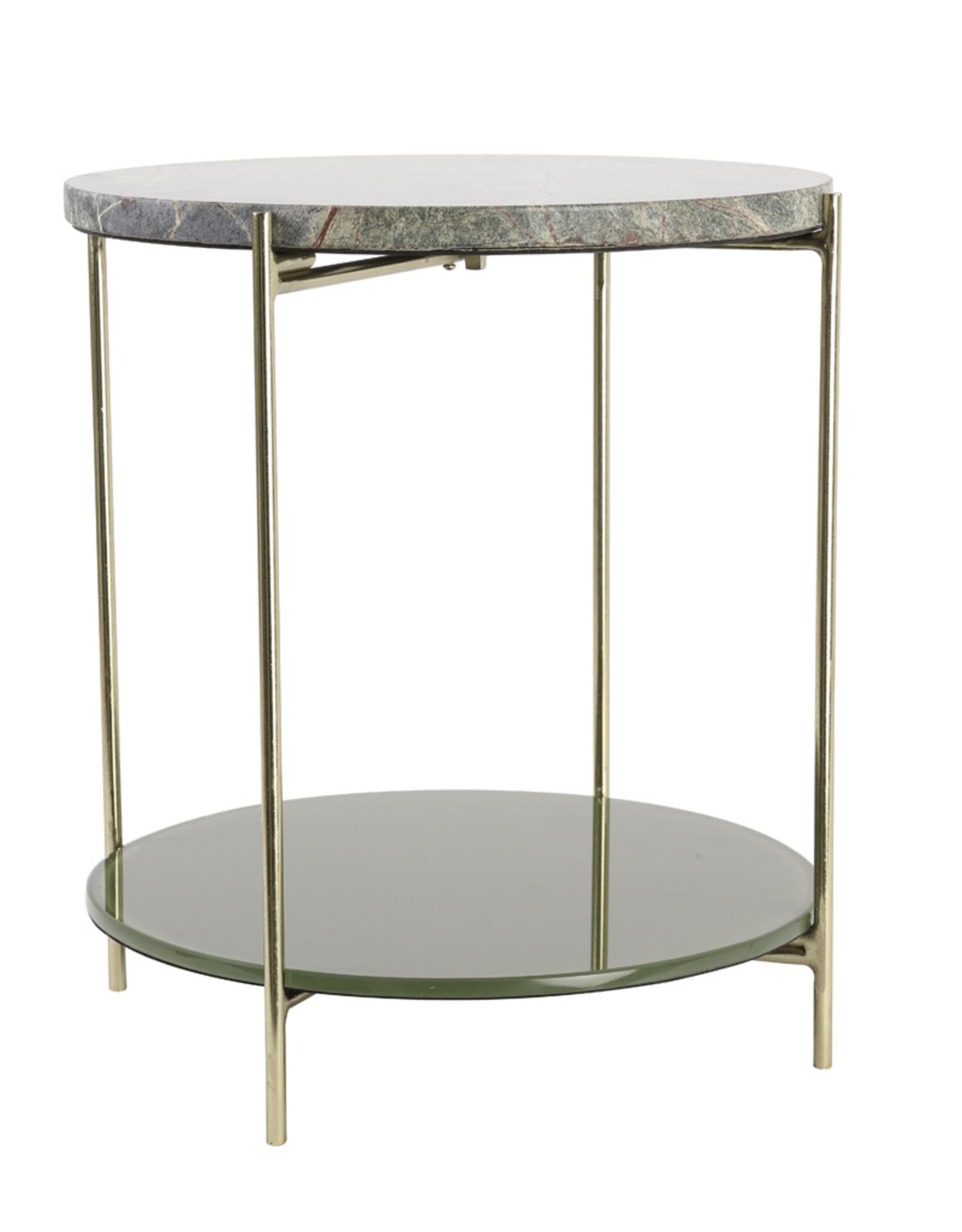Light & Living Side Table 103x37x80cm Besut Marmer