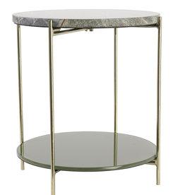 Light & Living Side Table Besut Marmer
