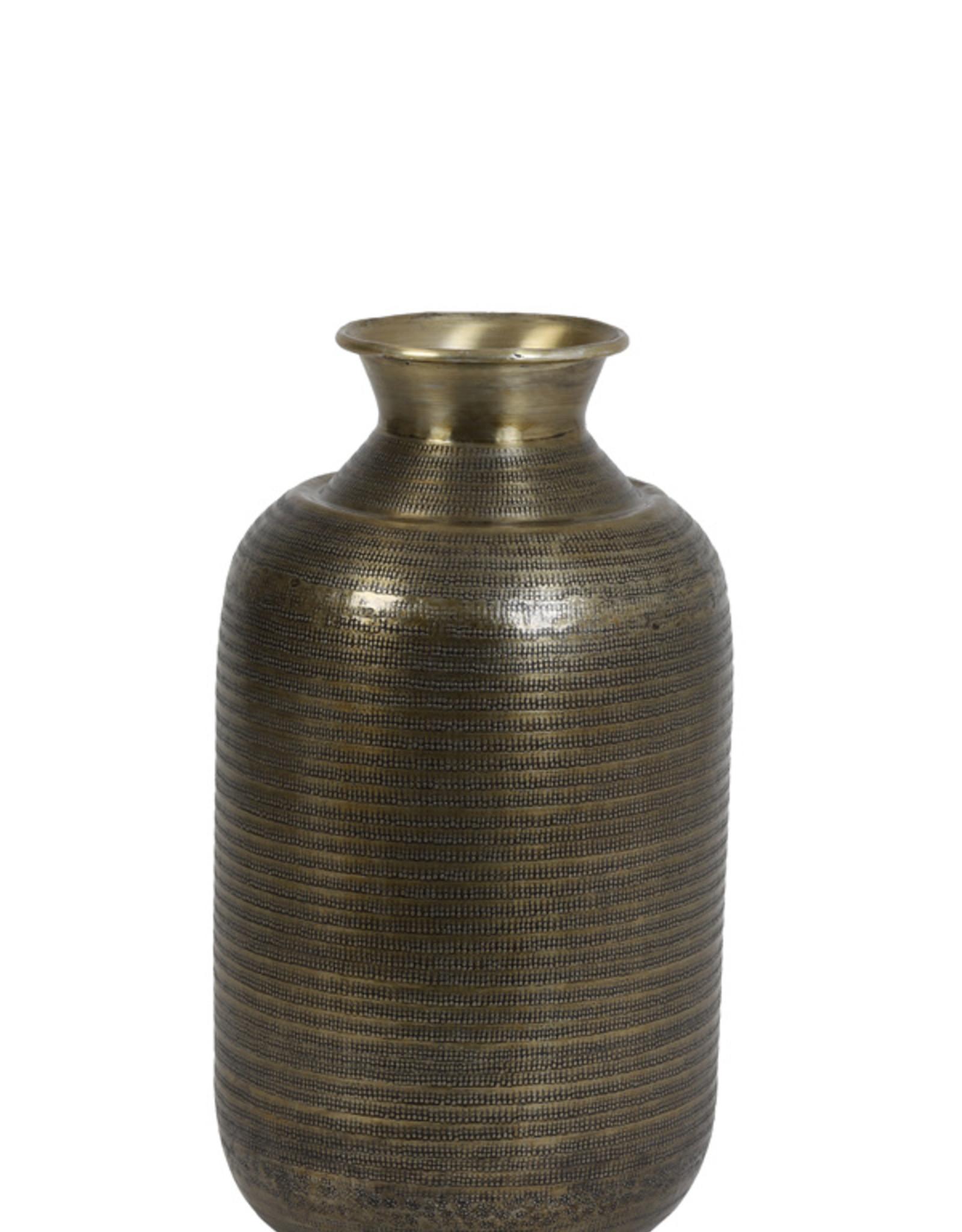 Light & Living Vaas deco 29x53cm Perroy antiek brons