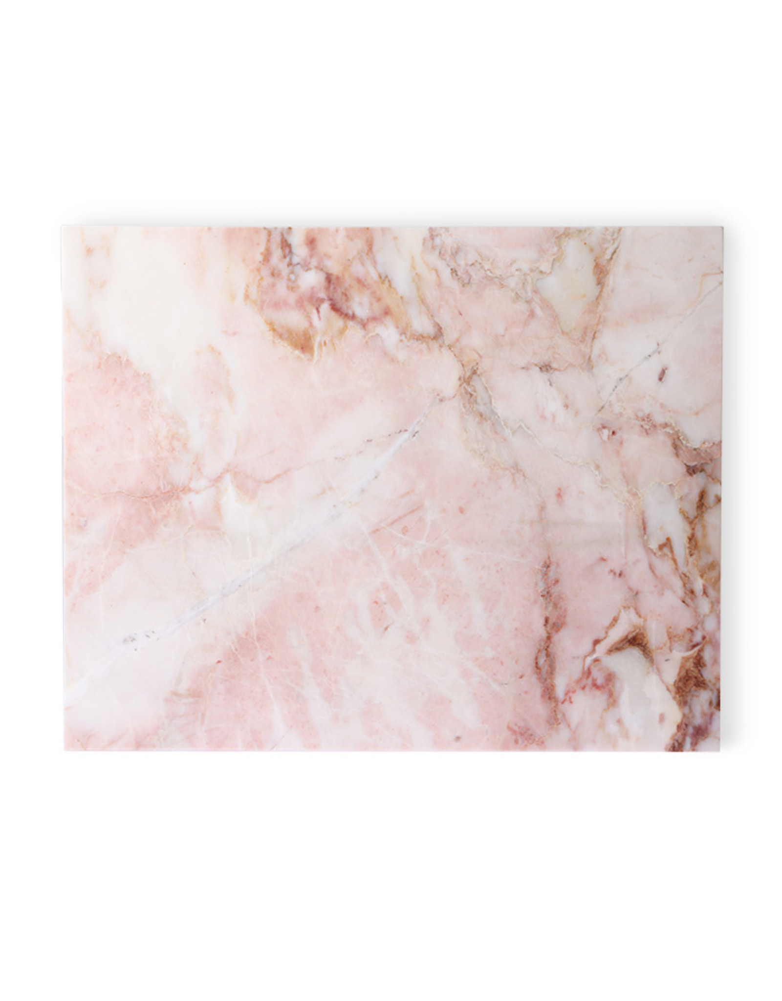 HK living Marble cutting board pink polished