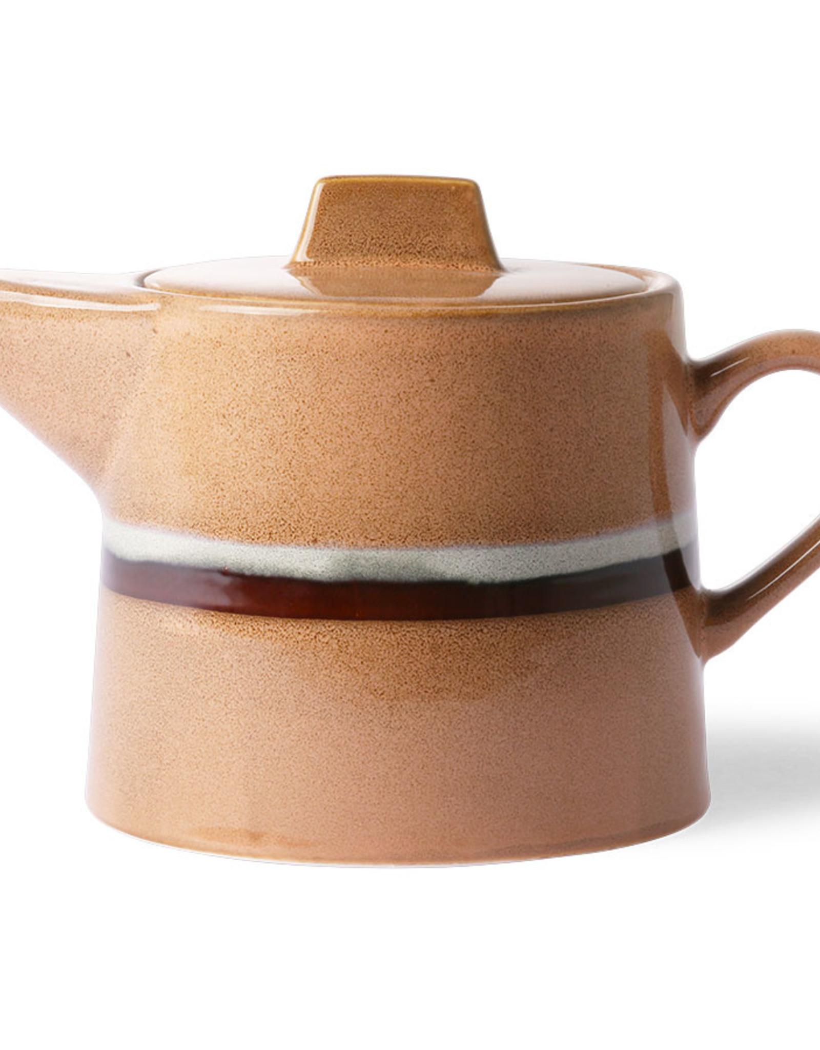 HK living ceramic 70's tea pot: stream