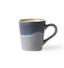 HK living ceramic 70's espresso mug: ocean