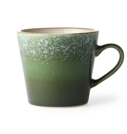 HK living Ceramic 70's cappuccino mug: grass