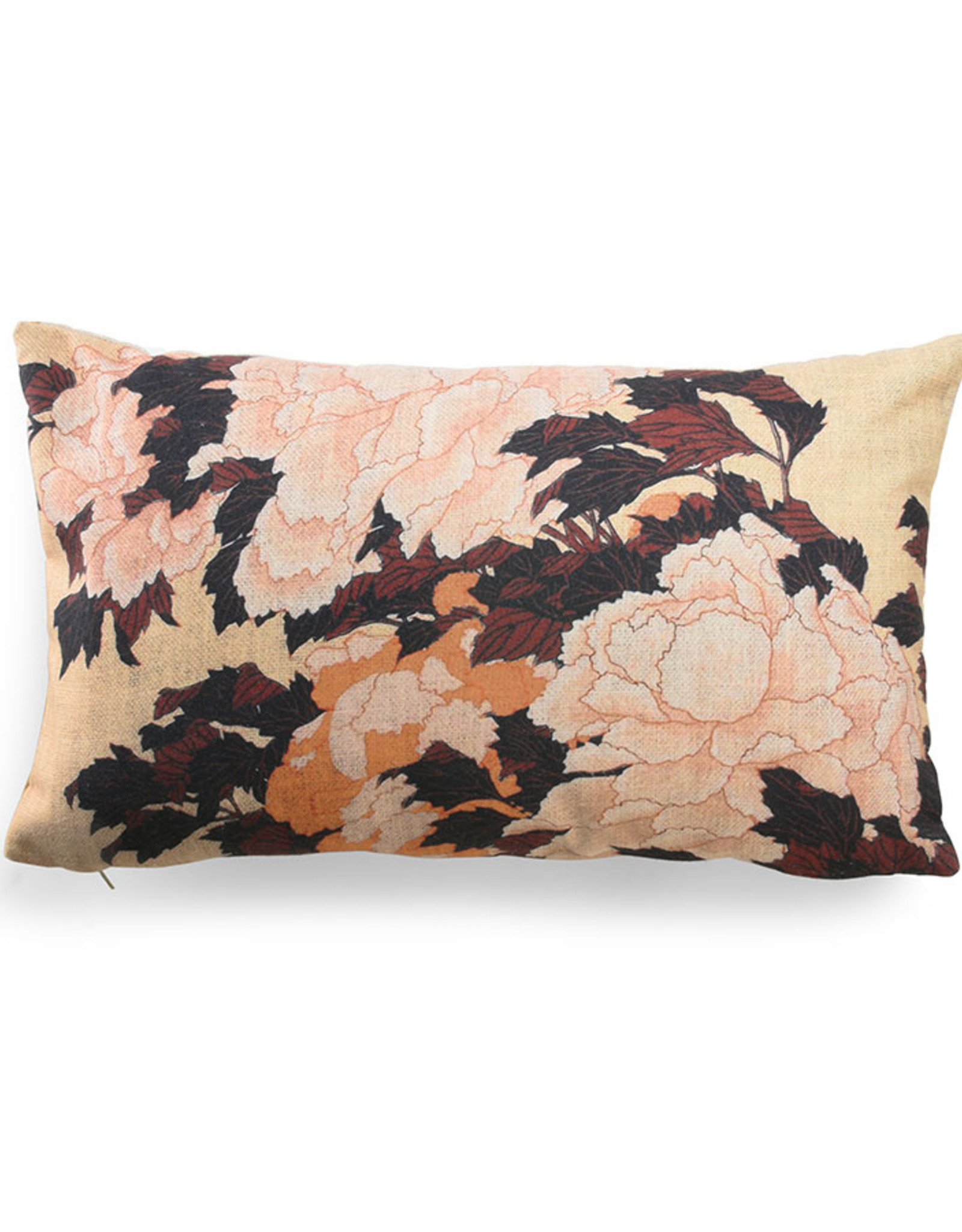 HK living Printed cushion tokyo 35x60cm