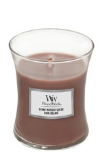 Woodwick Woodwick Stone Washed Suede Medium Candle