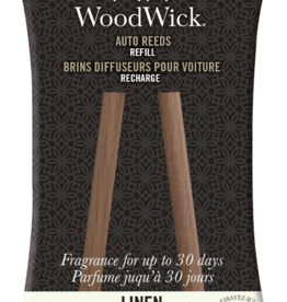 Woodwick Woodwick Auto Reed Refill Linen