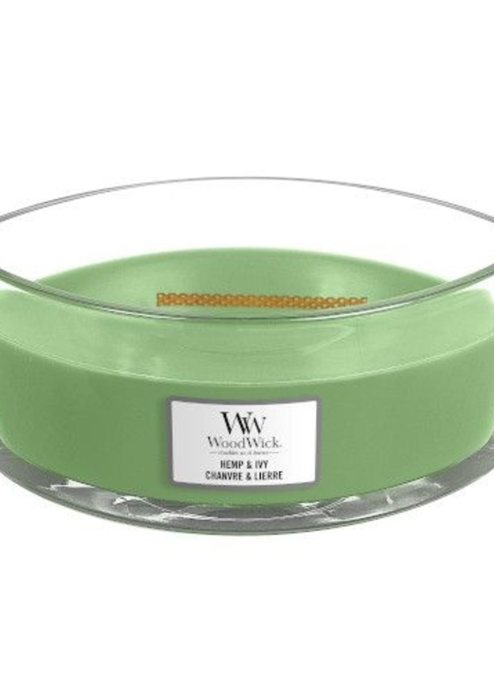 Woodwick Woodwick Hemp & Ivy Ellipse Candle