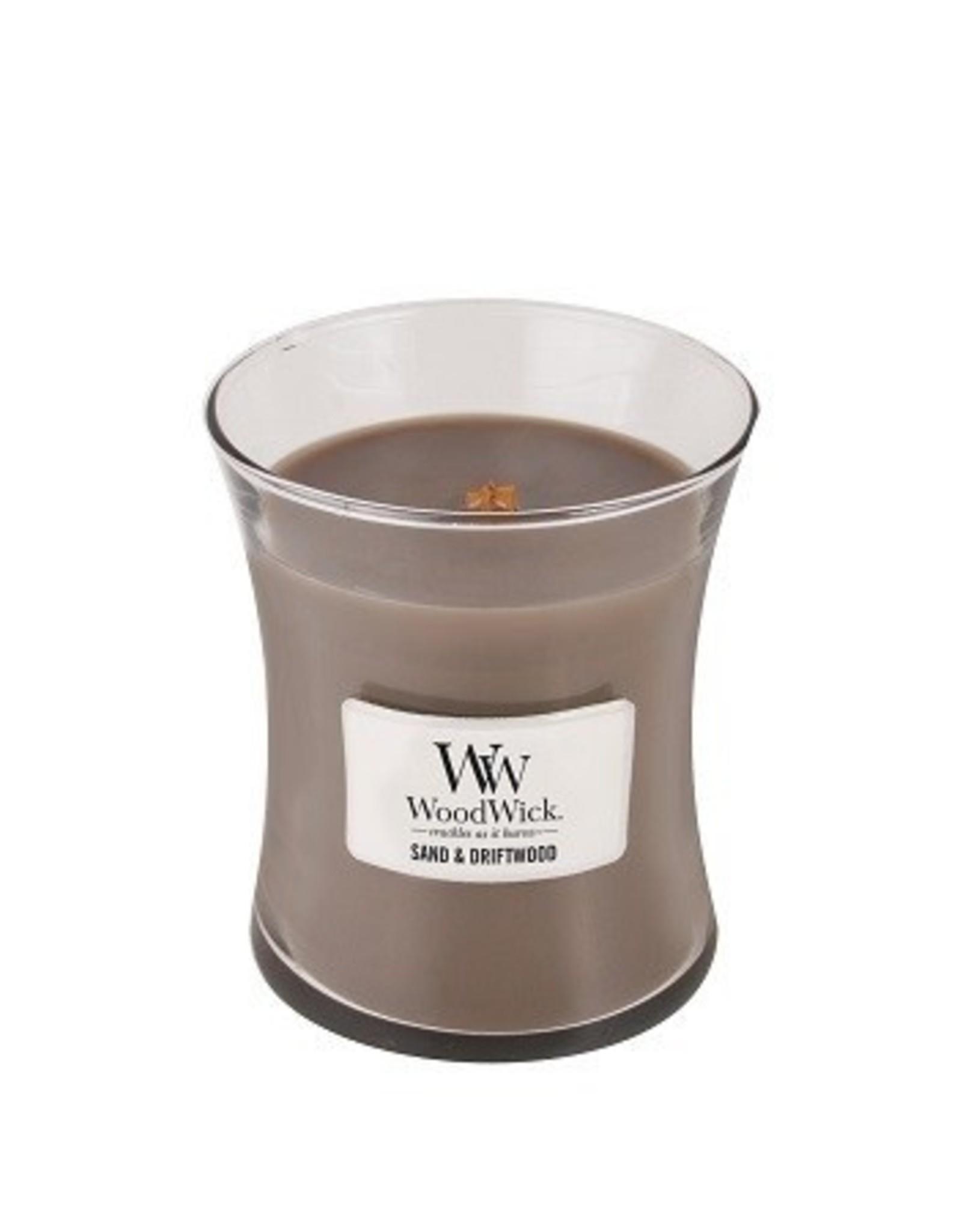 Woodwick Woodwick Sand & Driftwood Medium Candle