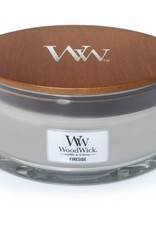 Woodwick Woodwick Fireside Ellipse Candle