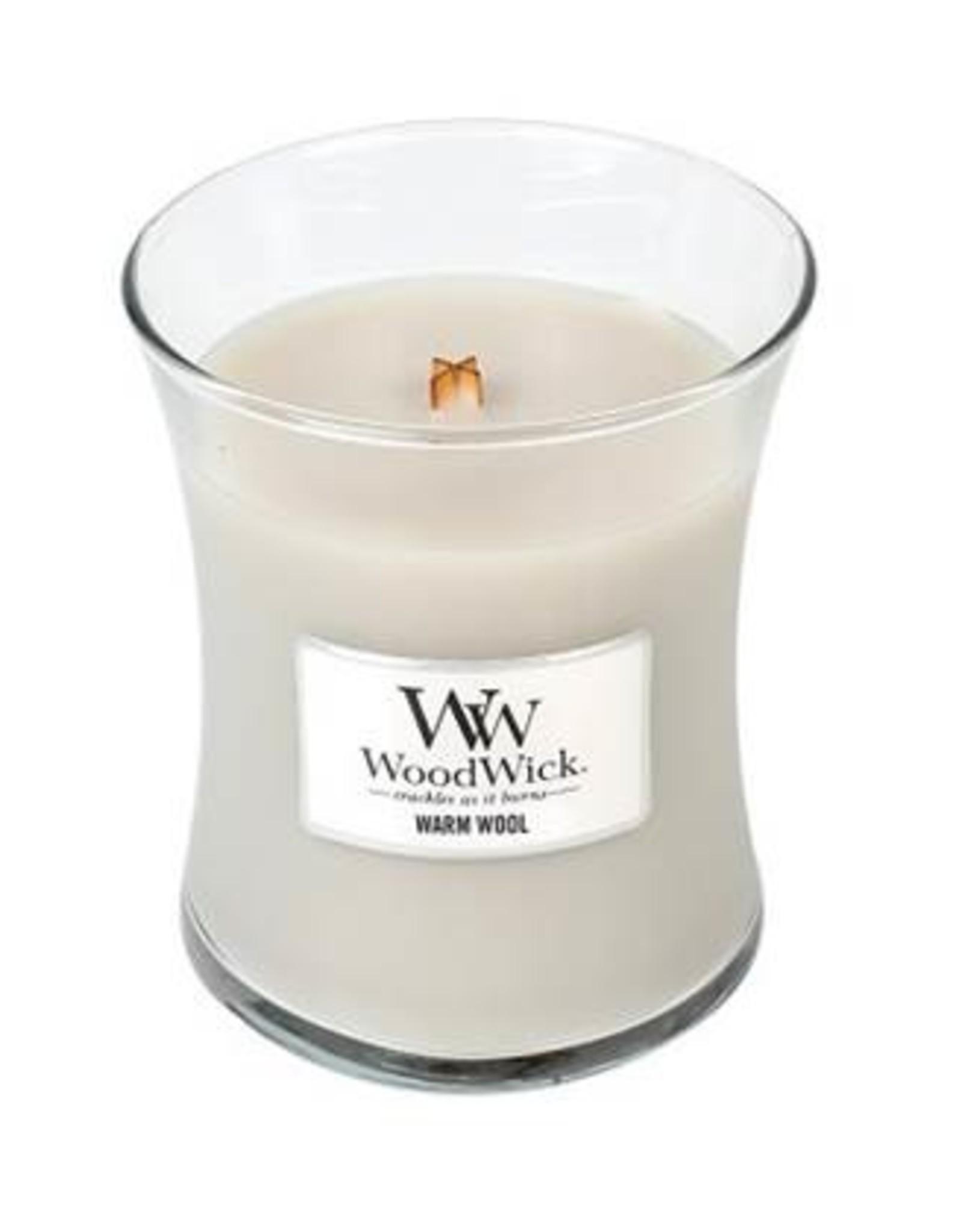 Woodwick Woodwick Warm Wool Medium Candle