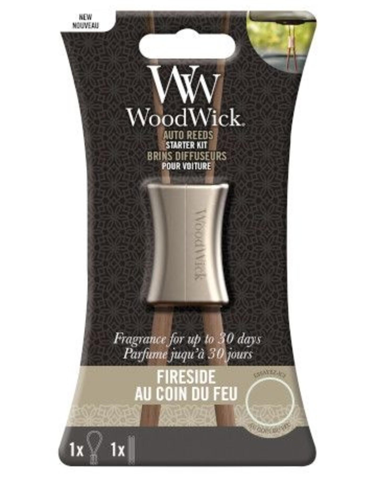 Woodwick Woodwick Auto Reed Starter Kit Fireside