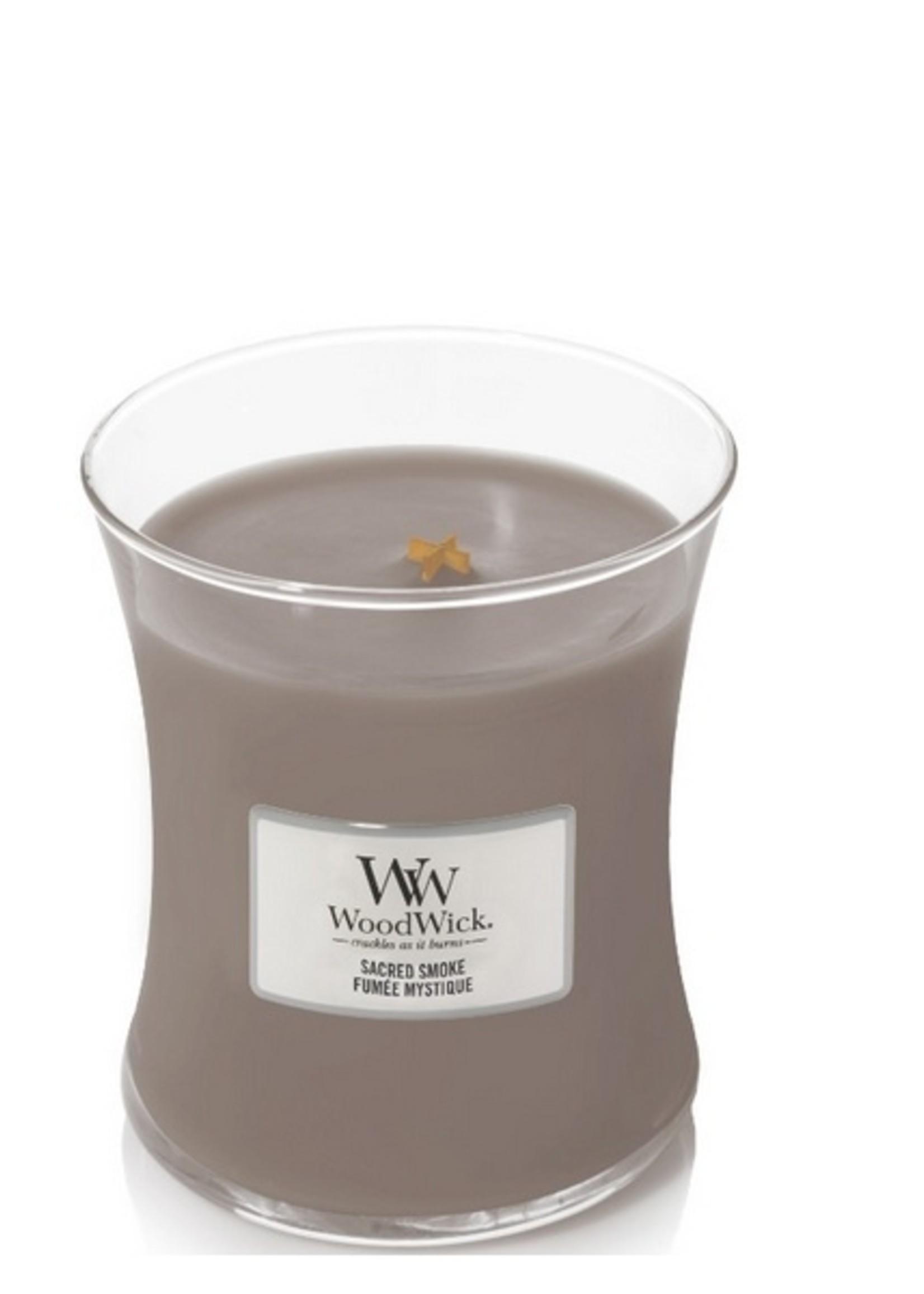 Woodwick Woodwick Sacred Smoke Mini Candle