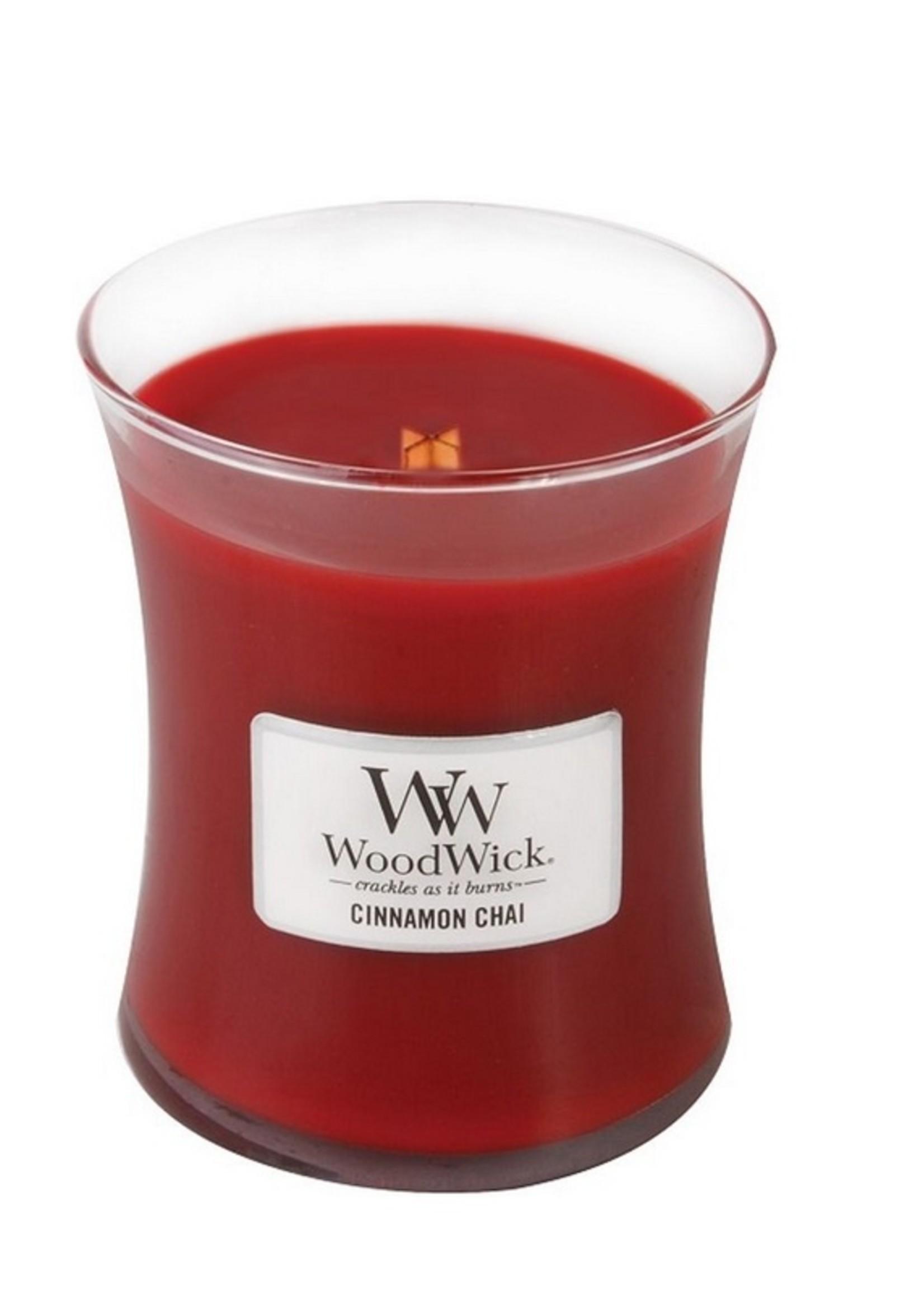 Woodwick Woodwick Cinnamon Chai Medium Candle