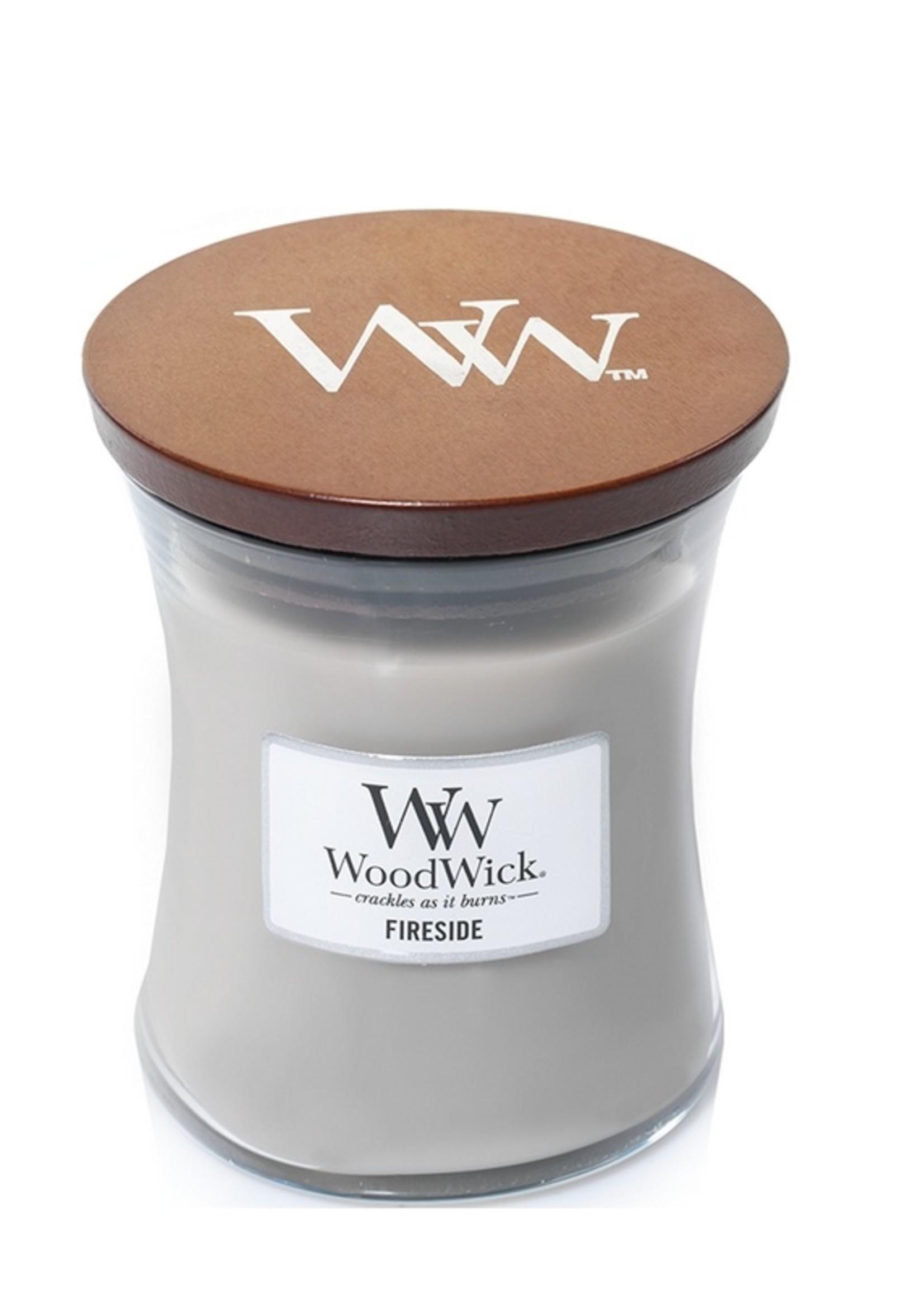 Woodwick Woodwick Fireside Medium Candle