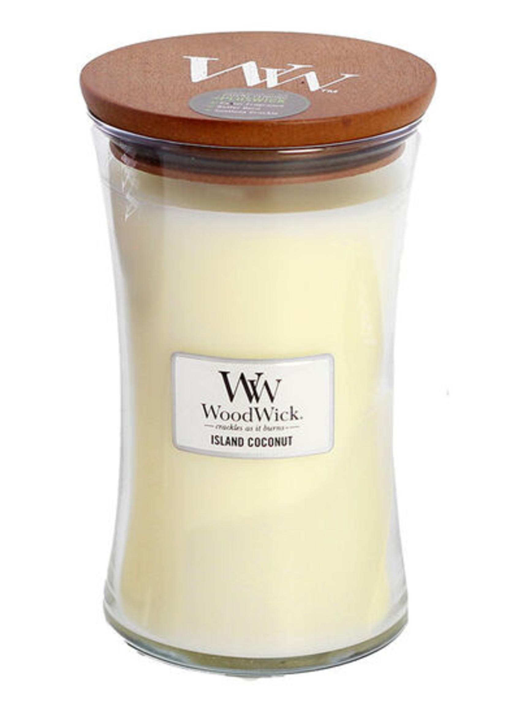 Woodwick Woodwick Island Coconut Large Candle