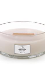 Woodwick Woodwick Smoke Jasmine Ellipse Candle