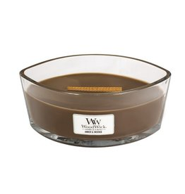 Woodwick Woodwick Amber & Incense Ellipse Candle
