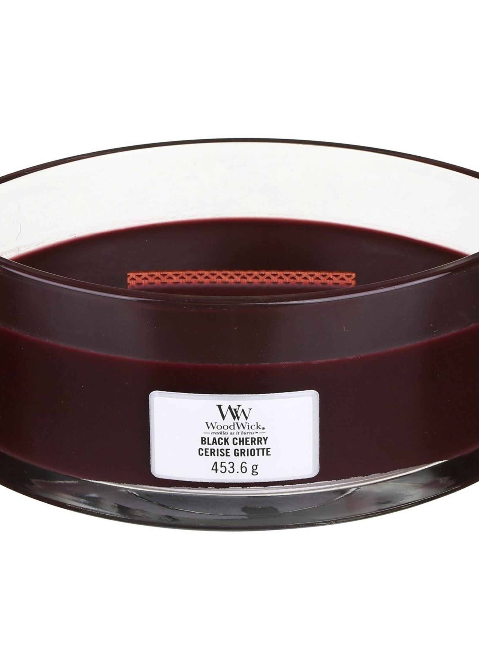 Woodwick Woodwick Black Cherry Ellipse Candle