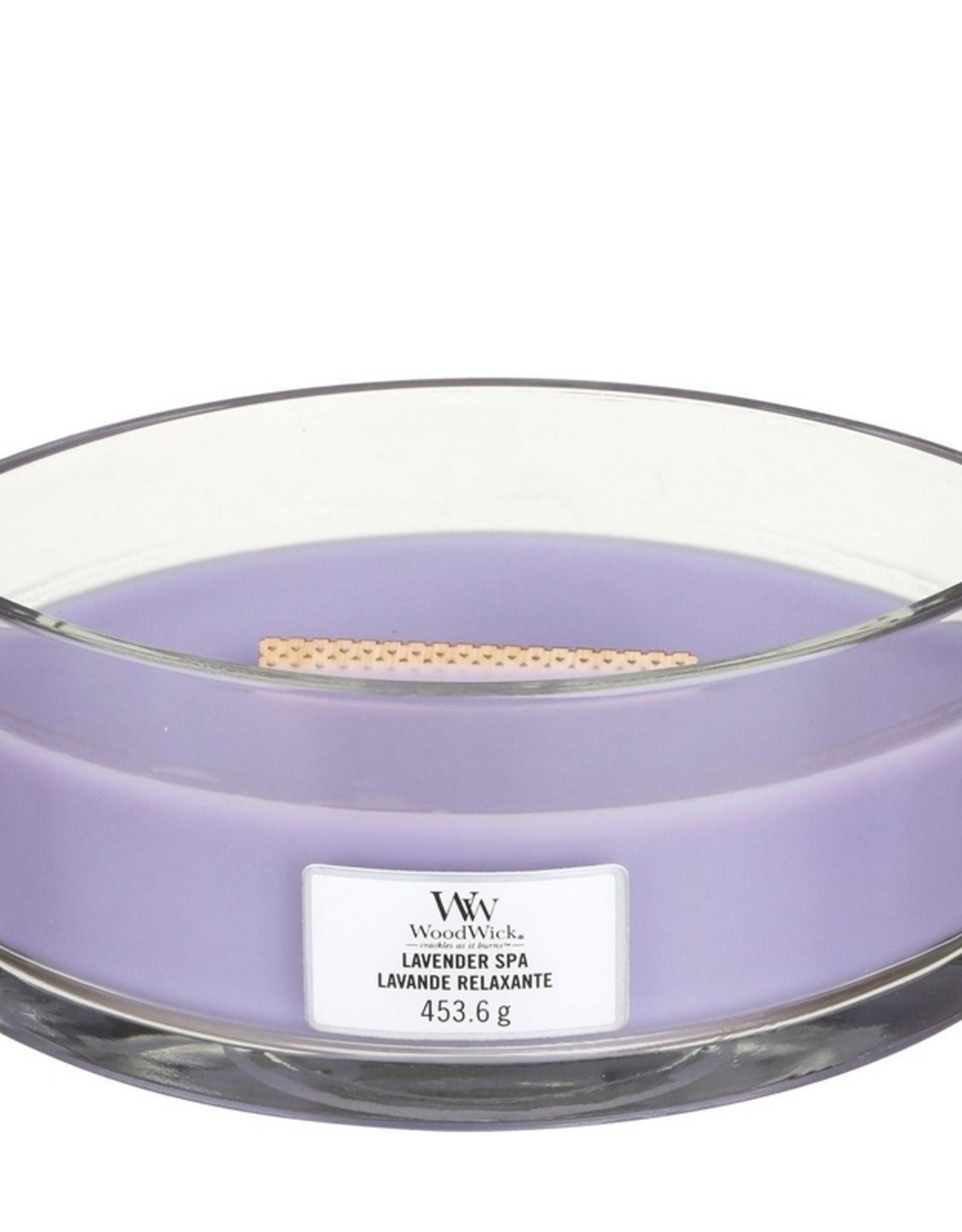 Woodwick Woodwick Lavender Spa Ellipse Candle