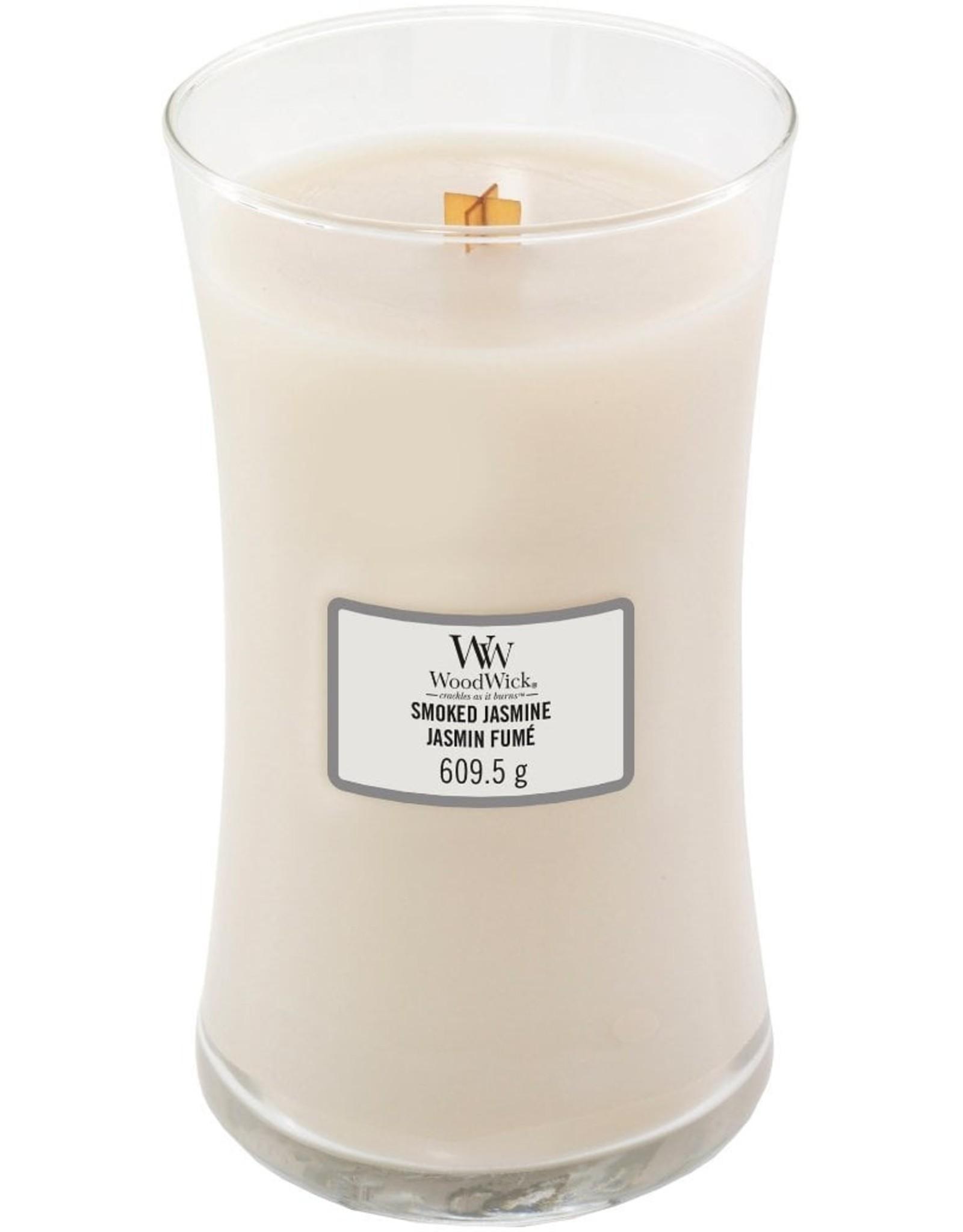 Woodwick Woodwick Smoked Jasmine Large Candle