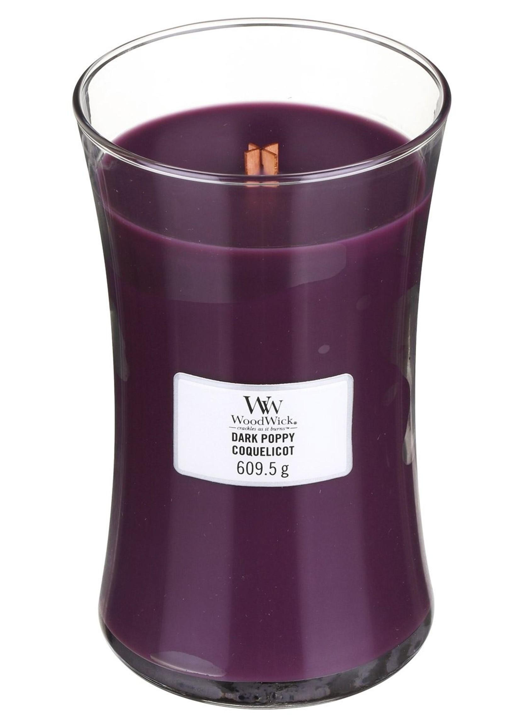 Woodwick Woodwick Dark Poppy Large Candle