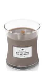 Woodwick Woodwick Black Amber & Citrus Medium Candle