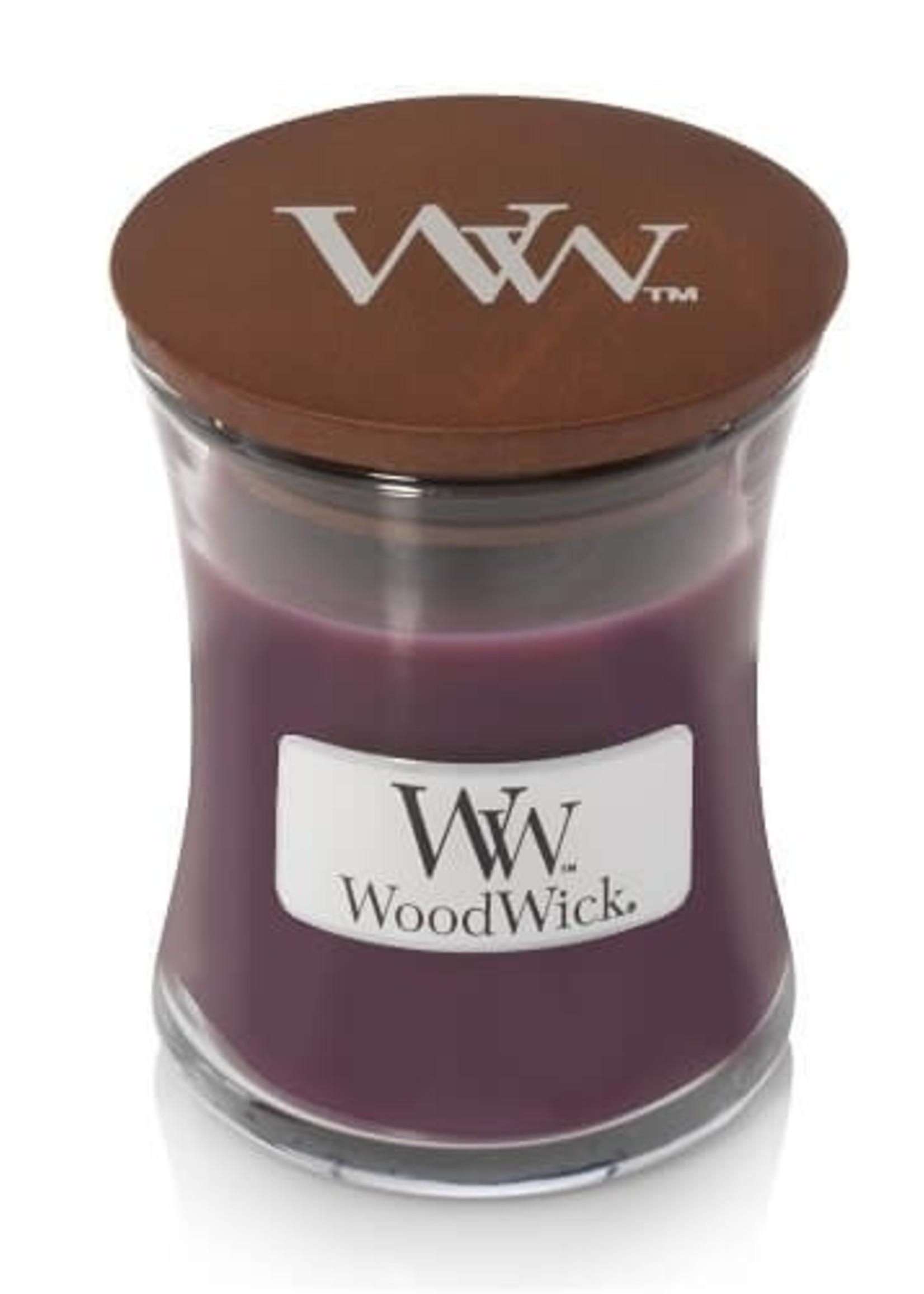 Woodwick Woodwick Dark Poppy Mini Candle
