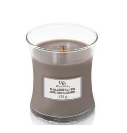 Woodwick Woodwick Black Amber & Citrus Mini Candle