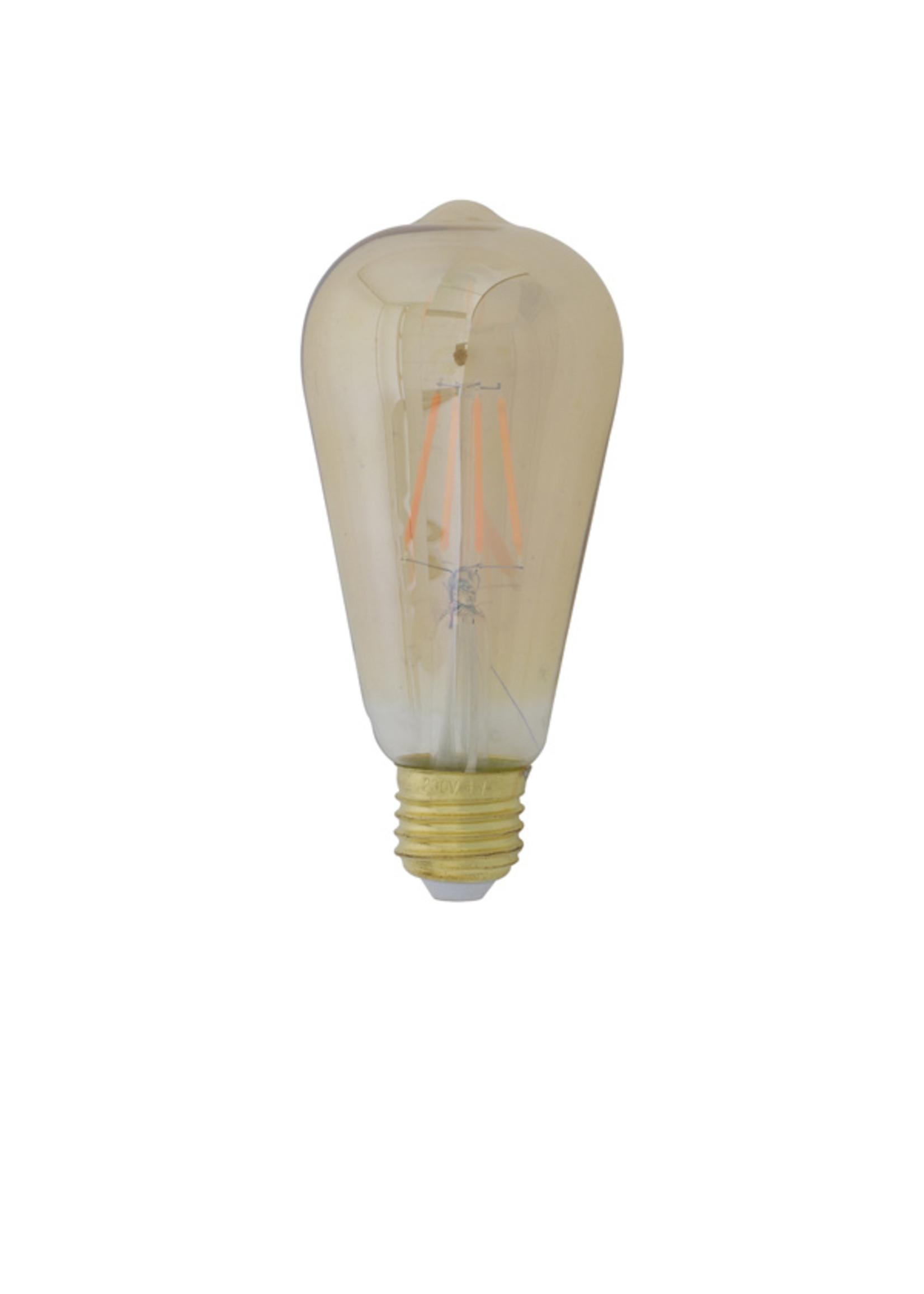 Light & Living LED HOEKIG LIGHT 4W AMBER E27