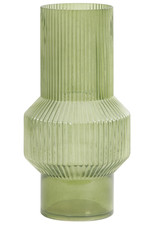 Light & Living Vaas Leila glas groen