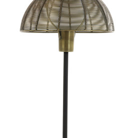 Light & Living Tafellamp Klobu antique brass