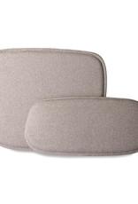 HK living Wire bar stool comfort kit pebble