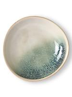 HK living Ceramic 70's Curry Bowl: Mist
