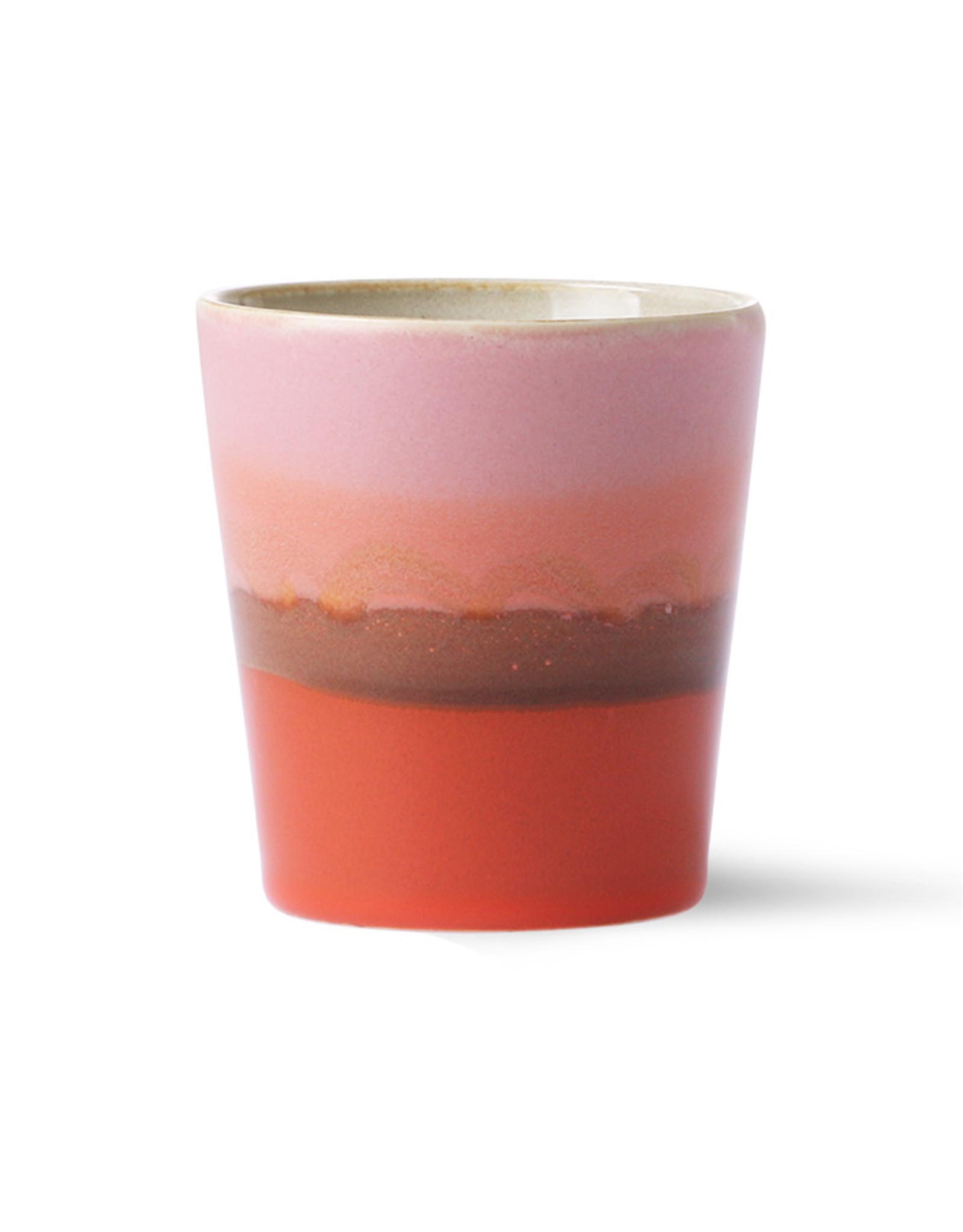 HK living Ceramic 70's Coffee mug: Mars