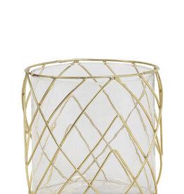 Light & Living Theelicht Sutton glas goud