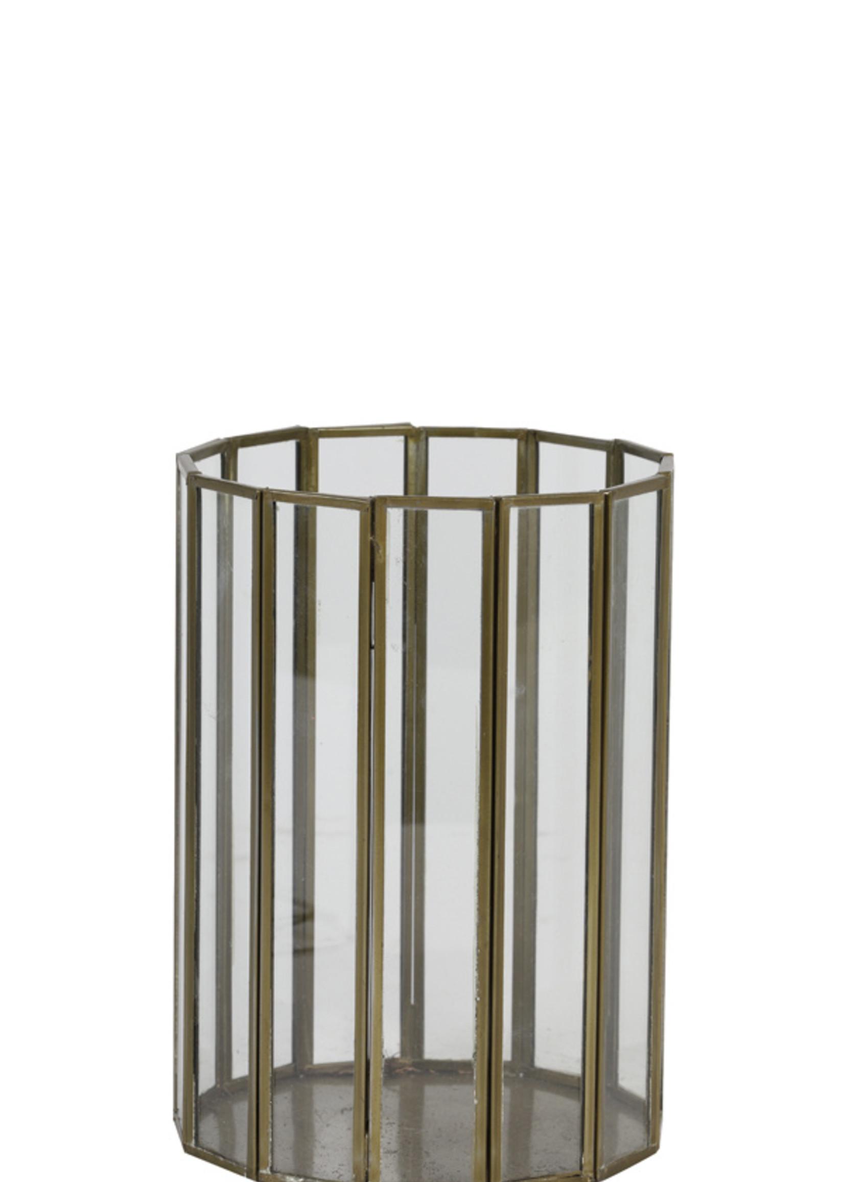 Light & Living Theelicht 14x20cm Uldun glas antiek goud