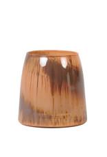 Light & Living Theelicht 11x11 Monle oranje bruin